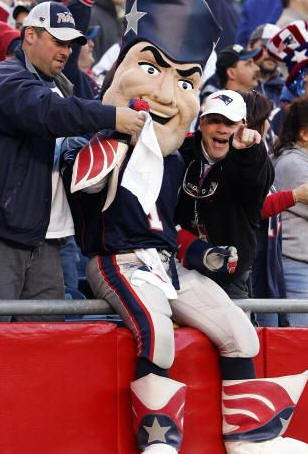 Pat the Patriot - New England Mascot