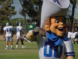 Dallas Cowboys Mascots - Rowdy