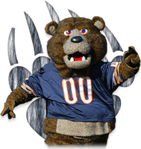 Chicago Bears Mascots - Staley Da Bear
