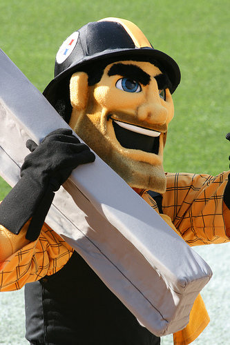 Steely McBeam - Pittsburgh Steelers Mascot