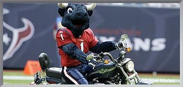 Houston Texans Mascot - Toro the Bull