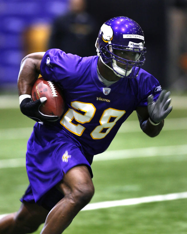 AD Vikings - Adrian Peterson Fantasy Football