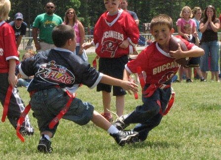 Flag Football Play - Flag Football Bootleg
