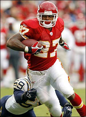 Chiefs Larry Johnson - Kansas City Larry Johnson