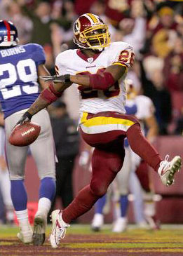 Clinton Portis - Fantasy Football Mock Draft