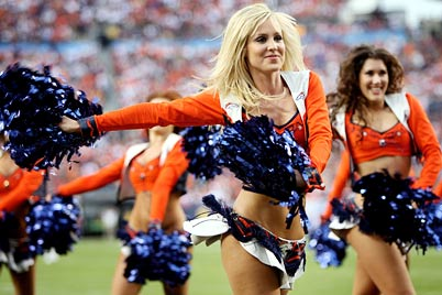 Denver Broncos Cheerleader - Denver Broncos Stampede Cheerleaders