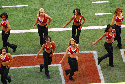 Falconettes - Atlanta Falcons Cheerleader