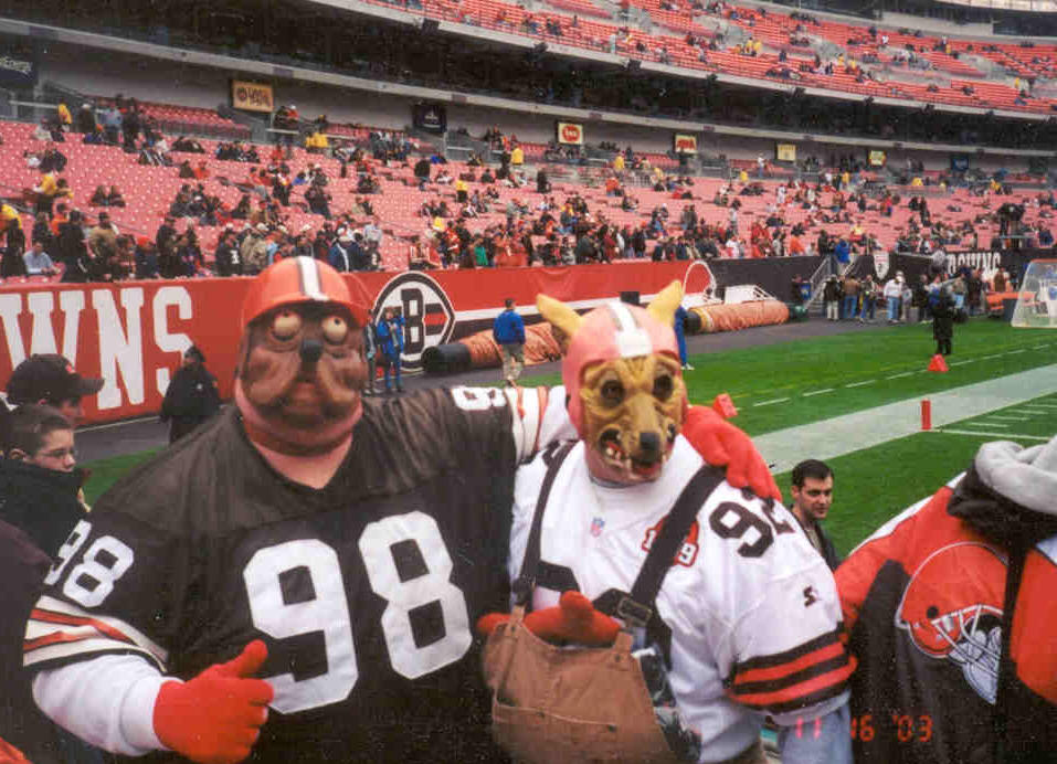 Football Fans - Dawgpound