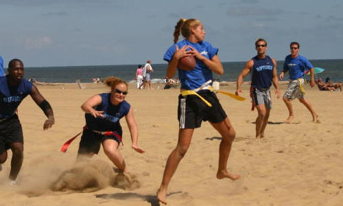 Beach Flag Football
