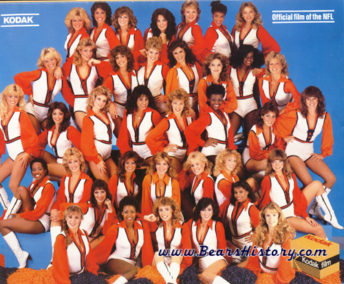 Bears Cheerleaders - Chicago Cheerleaders - Honey Bears - Honeyline