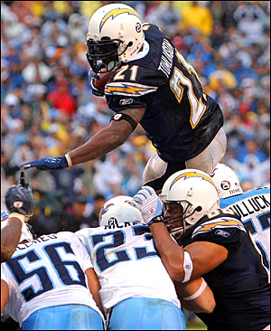LT2 Fantasy Football - Ladainian Tomlinson Fantasy Football