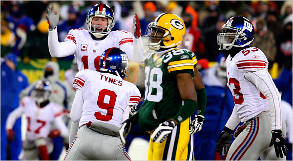 NFC Championship - Super Bowl New York Giants