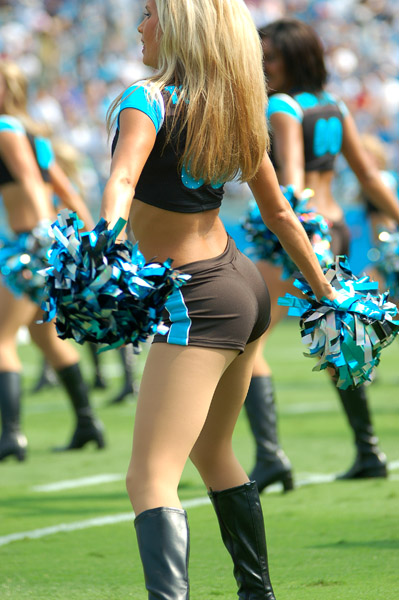 Carolina Panthers Cheerleaders - Topcats Cheerleaders