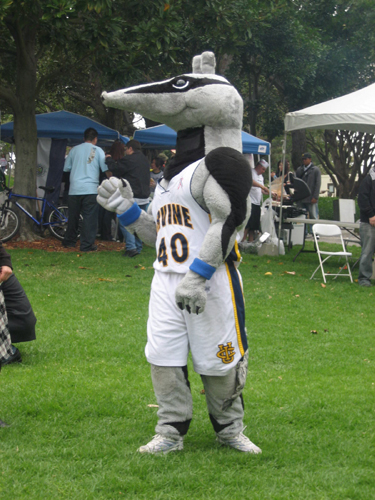 Peter the Anteater - Funny College Mascots
