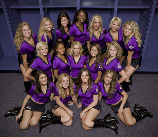 Baltimore Ravens Playmakers - Ravens Playmakers Cheerleaders