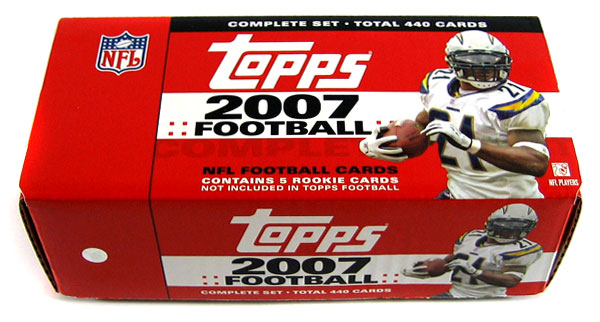 Topps Football Cards Set - Topps Cards Sets